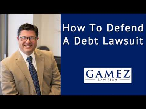 How To Defend Debt Collection Lawsuit In California