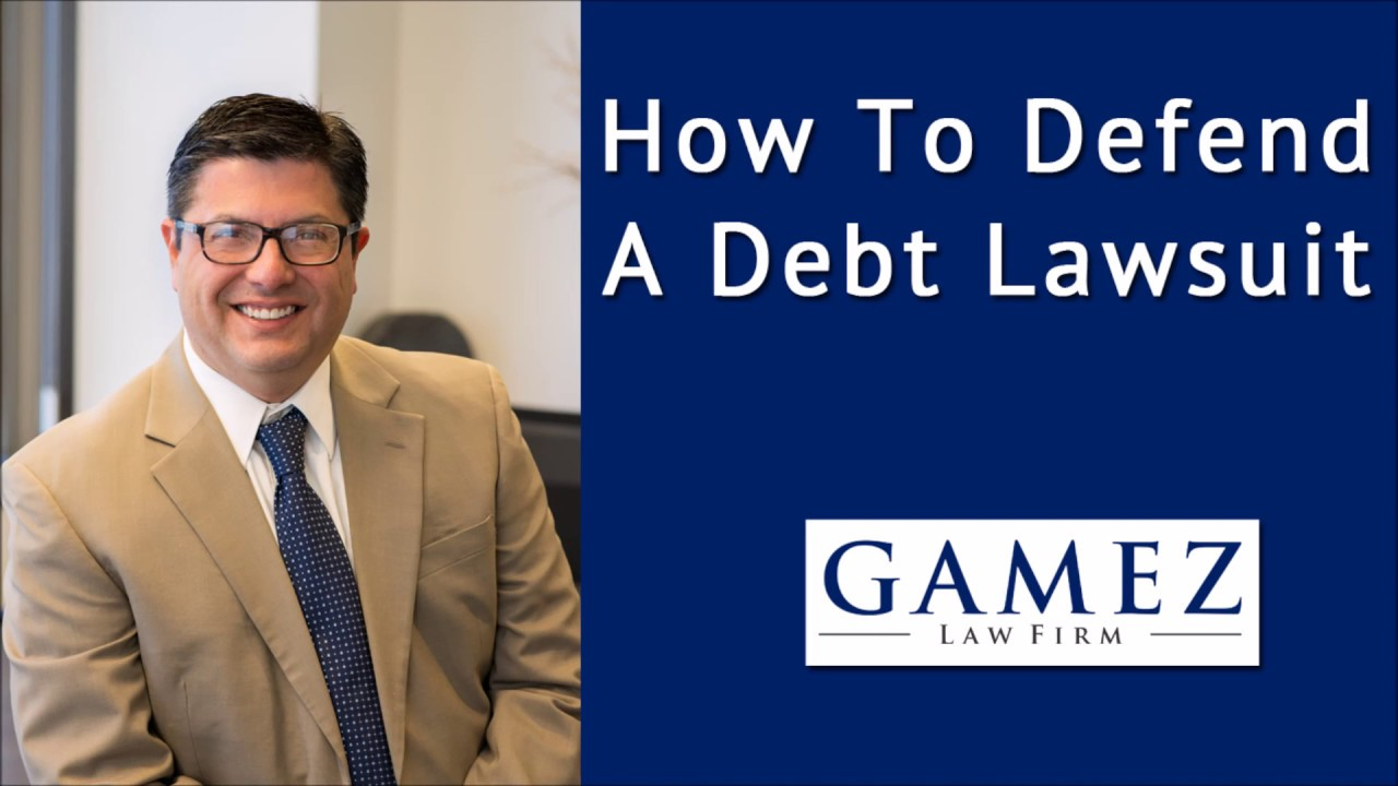 How to Defend Yourself in a Debt Buyer Lawsuit