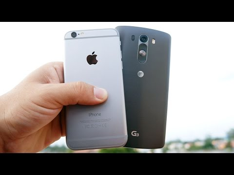 iPhone 6 vs LG G3 - This was a tough one