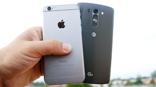 iPhone 6 vs LG G3 - This was a tough one   Pocketnow
