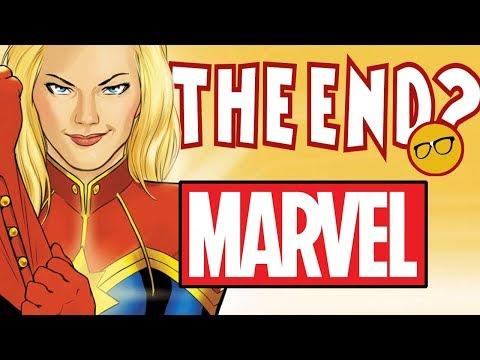 Disney Ending Marvel Comics? Captain Marvel & Friends Destroyed The Comic Industry