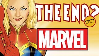 Disney Ending Marvel Comics? Captain Marvel & Friends Destroyed The Comic Industry