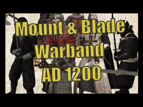Мод AD 1200 (№1). Третий стрим по Mount & Blade: Warband. Добро пожаловать!