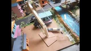 Hydraulic Model For Science Fair & Exhibition