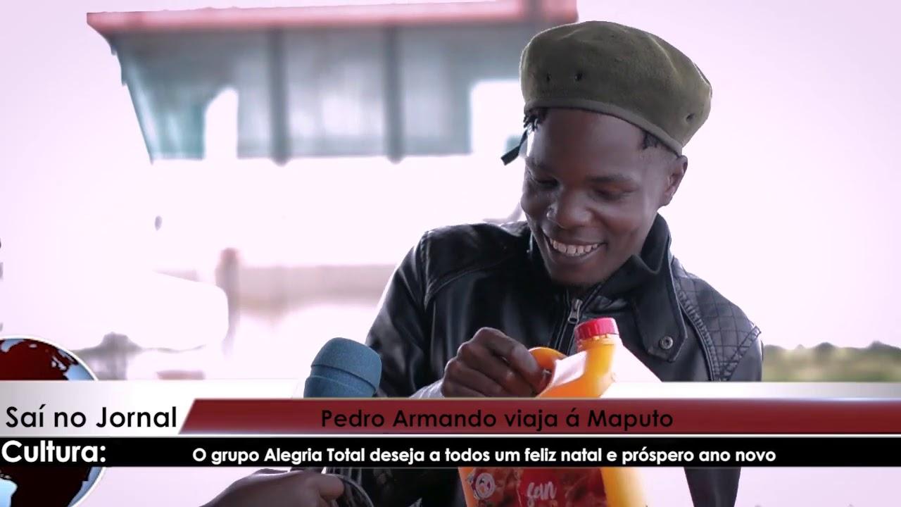 Tio Yado viaja á Maputo junto com material de socorro