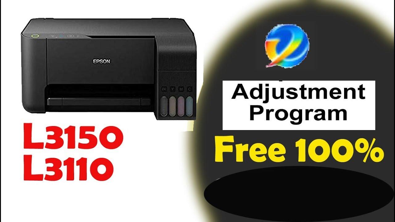 EPSON L3100 L3110 L3150 FREE RESET