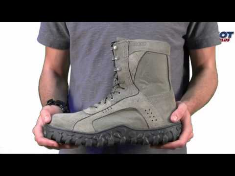 Bates Sage Green Zero Mass Boots At Shot Show 2012 Doovi