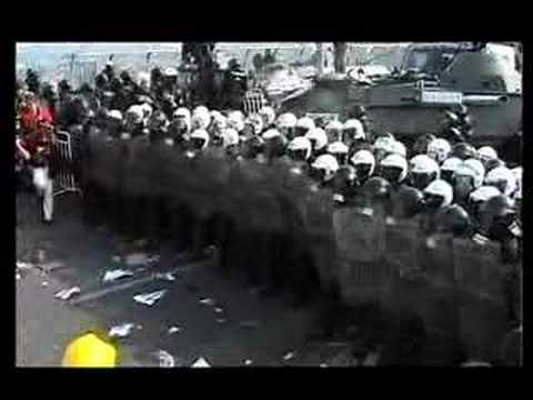 Revolting in Prague- IMF protests 2000