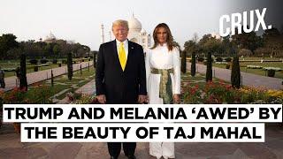 Donald Trump, Wife Melania Visit Taj Mahal, Says The Monument \