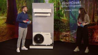 BoschDirekt #EinfachVorgestellt Split-Klimageräte