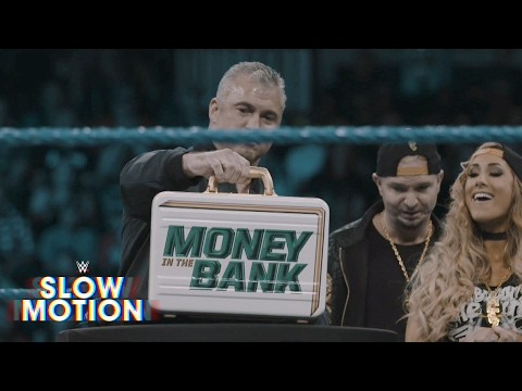 Unveiling the Women's Money in the Bank briefcase in slow-motion: Exclusive, June 8, 2017