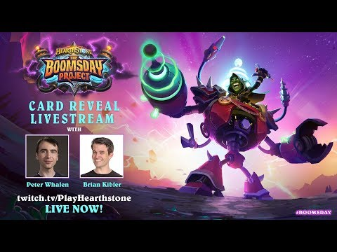 Card Reveal Livestream - The Boomsday Project