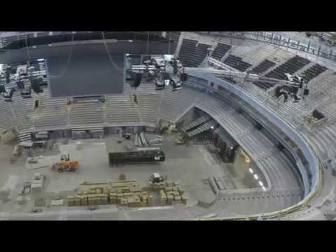 Vivint Smart Home Arena Renovation -- Bowl Timelapse