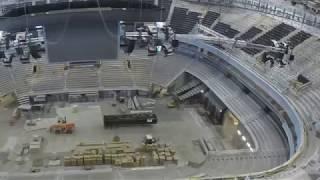 Vivint Smart Home Arena Renovation -- Bowl Timelapse