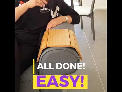 Slinky Sofa Table Bumper Demo