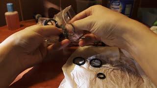 DIY RockShox Fork Service   Full rebuild