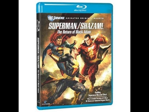 Superman/Shazam: The Return Of Black Adam Blu-Ray Unboxing streaming vf