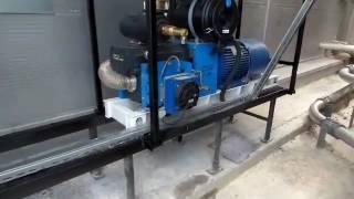 Компрессорный агрегат CVS SiloKing 1100 с масляным и воздушным охладителями