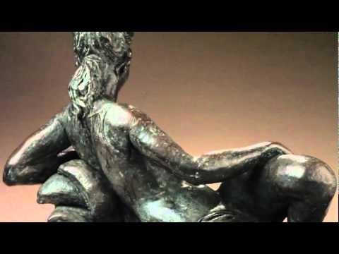 'Reclining Venus' - sculpture
