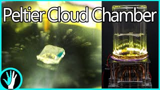 Make Invisible Radiation Become Visible - Peltier Cloud Chamber