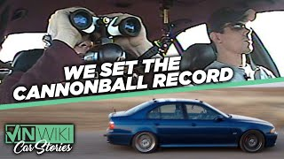 How I became Alex Roy's Cannonball co-driver