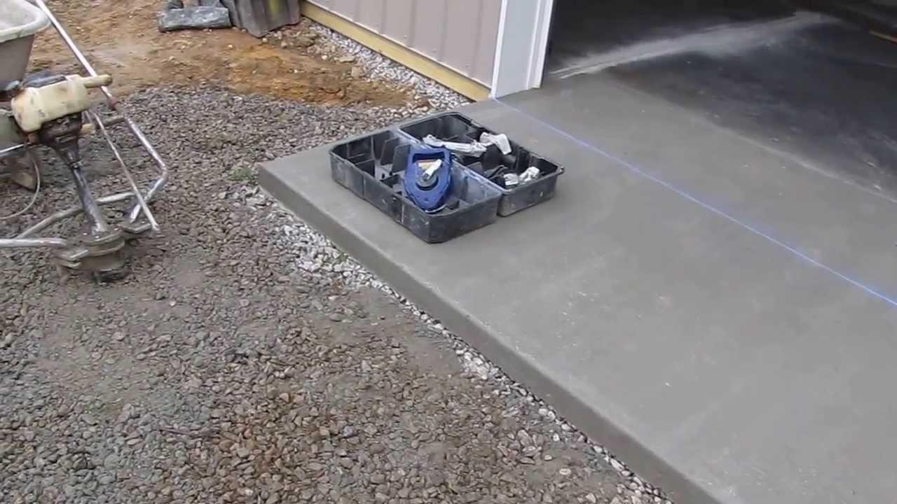 Cha Pole Barns Concrete Soft Cut Time Part 4 By Kvusmc