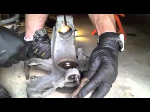 replacing VW front end suspension parts