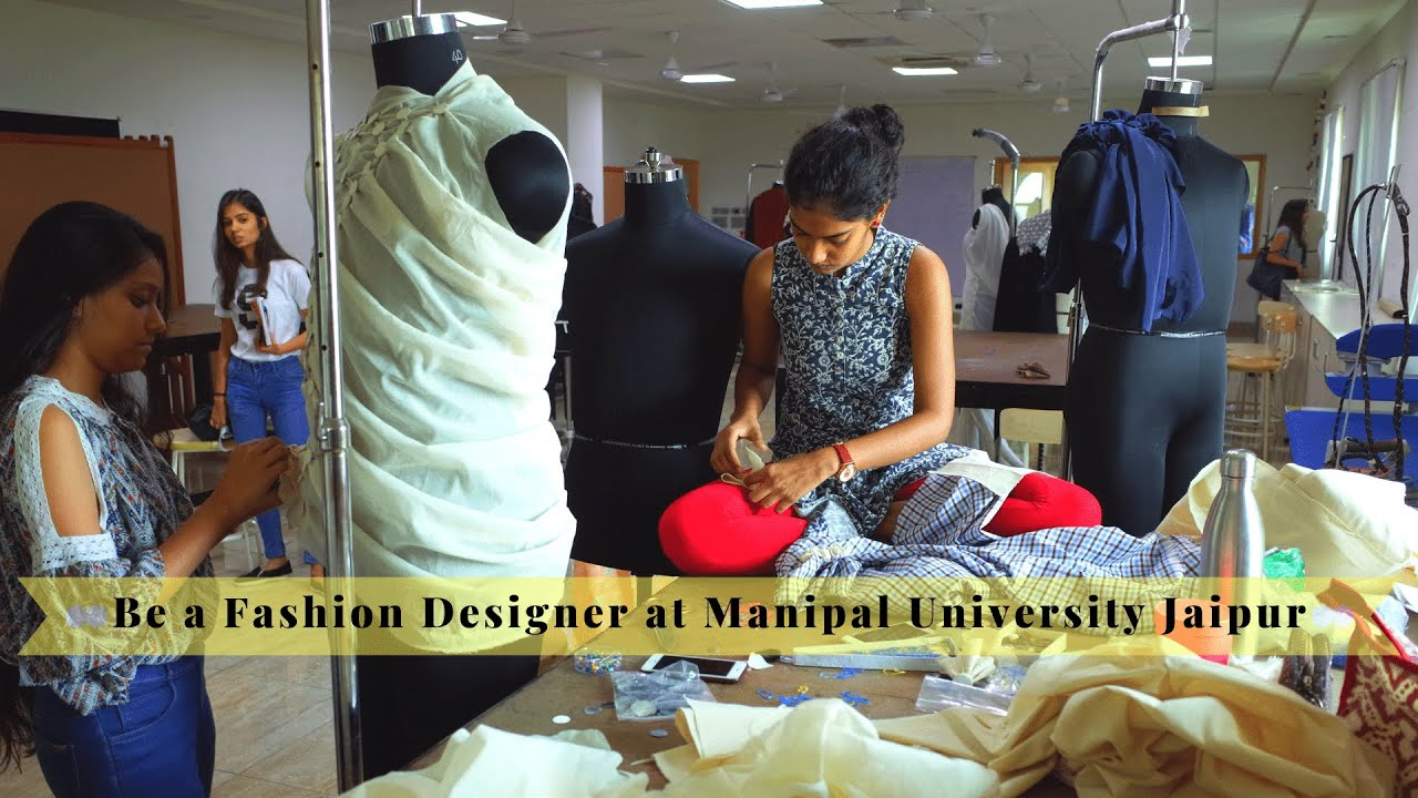 Master Fashion From Industry Insiders At Manipal University Jaipur Youtube