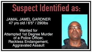 Attempted 1st Degree Murder Of Police Officer (Jamal Gardner) | Body Cam | United States | 20190202