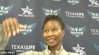 Dallas Wings Post Game  September 19