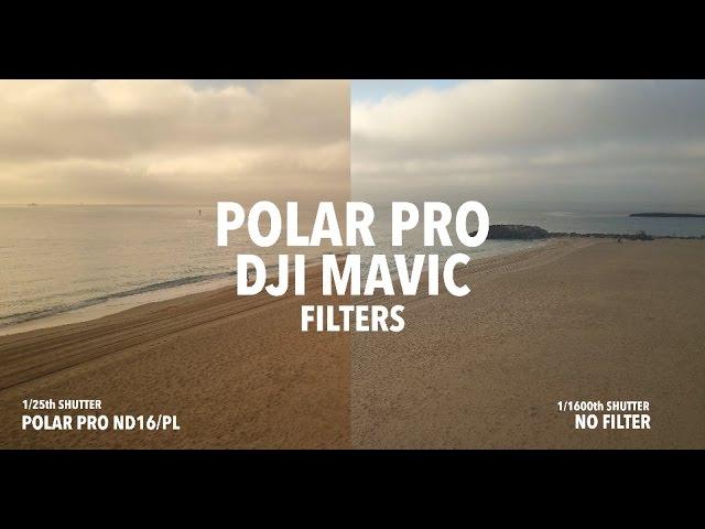 Dji Mavic Polar Pro Filters Comparision Youtube
