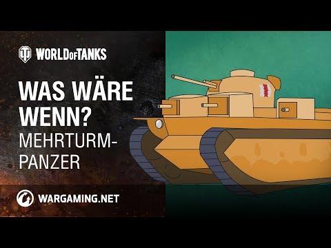 Was wäre wenn? Mehrturm-Panzer [World of Tanks Deutsch] thumbnail