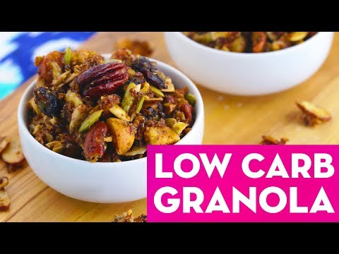 Granola 3 Ways: Healthy Low Carb, Savory & Traditional Recipes! Mind Over Munch