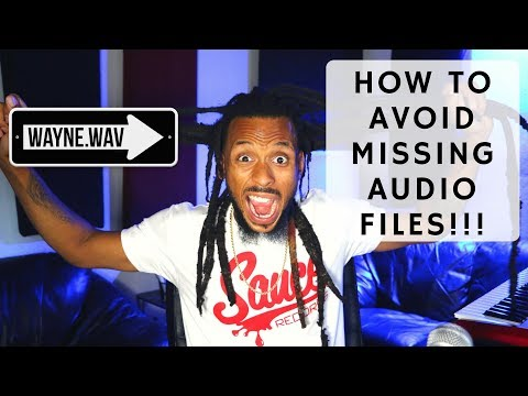 How To Properly Save and Send Pro Tools Sessions- Avoid Missing Audio Files- Save Copy In