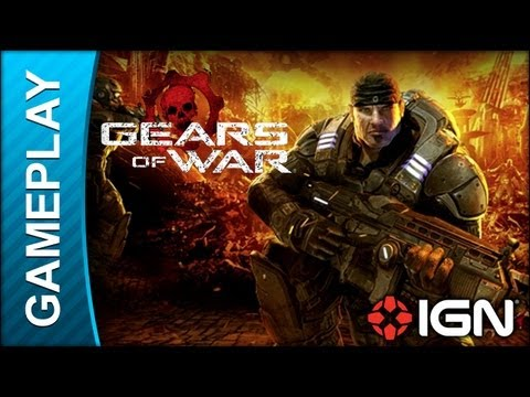 Gears Of War - RAAM Boss Fight - Gameplay