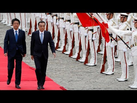 Full Video: Japanese Prime Minister holds welcome ceremony for Chinese Premier Li Keqiang