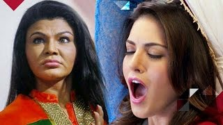 Repeat youtube video Watch: Rakhi Sawant's BIZZARE Comment On Sunny Leone's Ad Controversy | Bollywood News