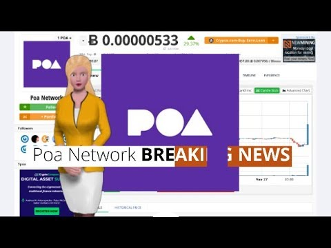 Poa Network $POA Surges 29% During the Last 24 Hours 8