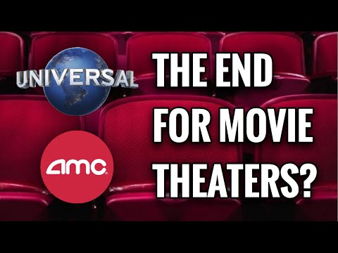 IS THIS THE END FOR MOVIE THEATERS?!? | AMC THEATRES TO STOP SHOWING UNIVERSAL MOVIES