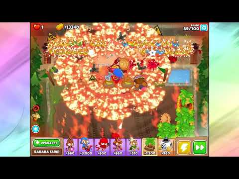 Repeat Bloons TD6 Firing Range Half Cash Perfect Run by