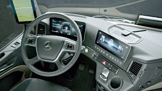 2019 Mercedes-Benz Actros Interior
