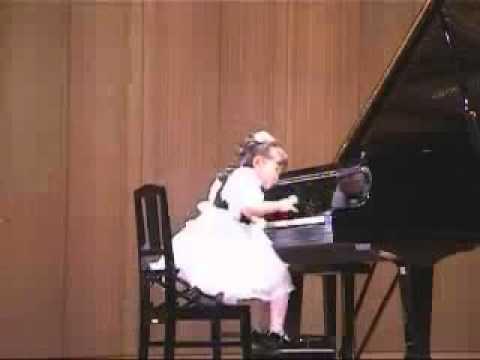 Aimi Kobayashi 4 years old plays Clementi Sonatina op  36   YouTube
