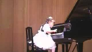 Aimi Kobayashi 4 years old plays Clementi Sonatina op  36   YouTube