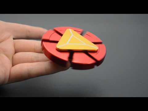 Iron Man Fidget Hand Spinner Reiview