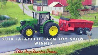 2018 Lafayette Farm Toy Show Winner: Christian Oyster