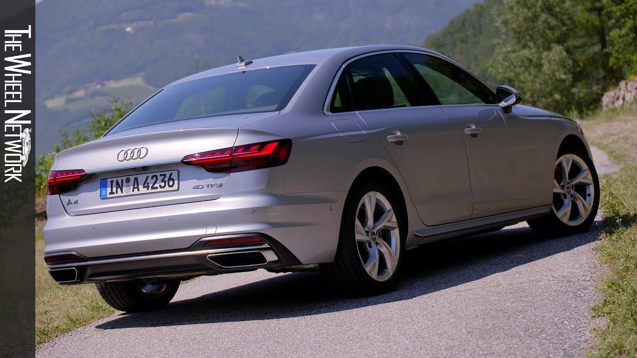 2020 Audi A4 Sedan 40 Tfsi Florett Silver Exterior Interior Youtube