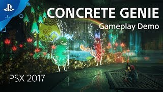 Concrete Genie - PSX 2017: Gameplay Demo | PS4