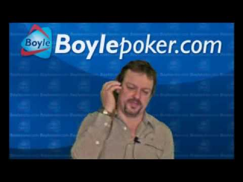 Boylepoker.com go Heads Up with Tom Hanlon