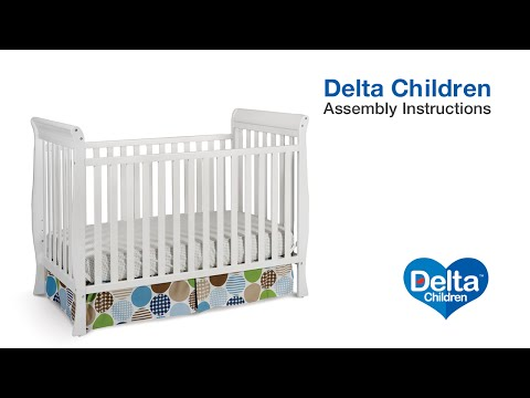 Delta Children Columbia & Winter Park 3-in-1 Crib Assembly Video