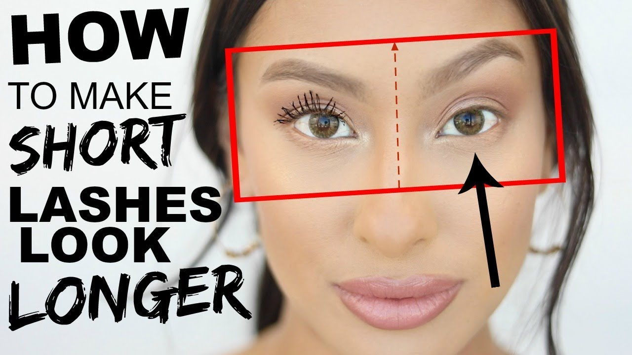 How to make SHORT Lashes look LONGER! Tips & Tricks  Lash Routine for weak  lashes